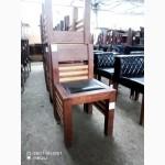 Продам стулья деревянные б/у сидение кож зам