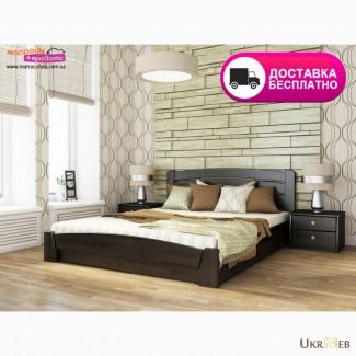 Деревянная кровать Селена с подъемным механизмом