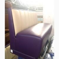 Диван б/у фиолетовый кожзам