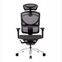 Компьютерное Кресло ERREVO UNO в черном цвете, спинка/сетка, сидение/сетка полированное