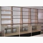 Прилавки, стеллажи, витрины, торговое оборудование для магазинов, аптек, .Быстро, качественно