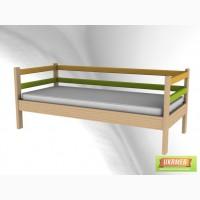 Детские кровати разной конфигурации из массива ольхи (ясеня)