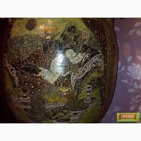 Вазы.Эксклюзивная роспись керамики под старину в Греческом стиле