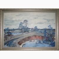Картина маслом Весенний пейзаж
