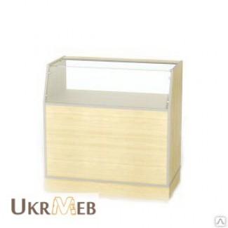 Прилавок торговый, универсальный, ДСП и стекло, изготовление на заказ, быстро, качественно