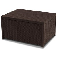 Monaco Set With Storage table голландська мебель из искусственного ротанга