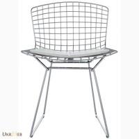 Дизайнерский металличекий стул Бертойя (Bertoia) для дома, кафе бара, офиса купить Украина