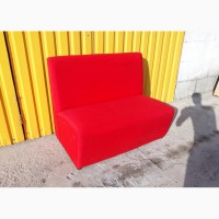Красные диваны б.у, мебель бу для кафе, бара, ресторана, офис