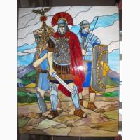 Витражные панно, иконы, картины