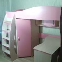 Кровать Чердак КЧО 115 для одного ребенка за 14 дней