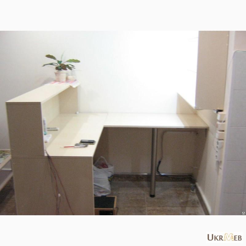 Фото 2. Барная стойка(комплект Эконом)стойка, навесной пенал, модуль под кофемашину, изготовление