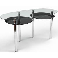 Стеклянный обеденный стол Лукас