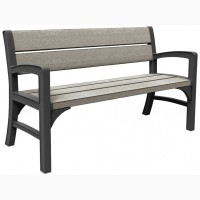 Wood Look Feel Bench Set голландська мебель для улицы