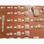 Продам гибкие деревянные резные орнаменты ( капители, короны, розетки)