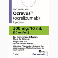 ОКРЕВУС (Окрелизумаб) 300 мг/10 мл, Roche (Швейцария)