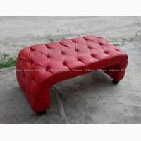 Пуф банкетка б/у красная, мягкая мебель для магазинов салонов кафе
