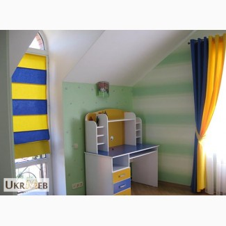 Шторы, жалюзи для детской комнаты от Дизайн-Стелла