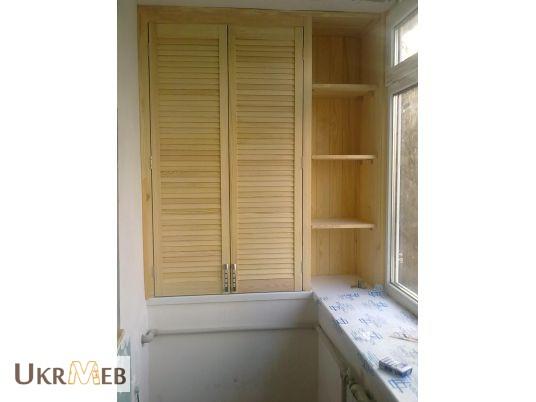 Двери-жалюзи для шкафа своими руками