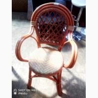 Кресла б/у лоза коричневого цвета