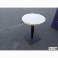 Столы б/у для кафе с круглой столешницей