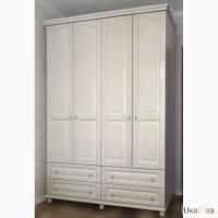 Шкаф 4-х дверный из массива ясеня