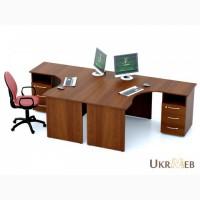 Офисные столы Атрибут с приставными тумбами в наличии