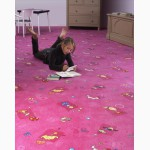 Ковер с детским рисунком. Детский ковролин
