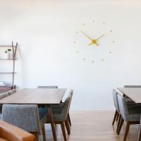 Очаровательные часы Nomon Oj Mini Wall Clock, Mustard