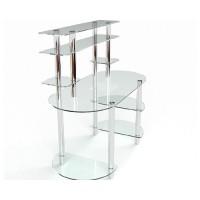 Стеклянный компьютерный стол Аванти