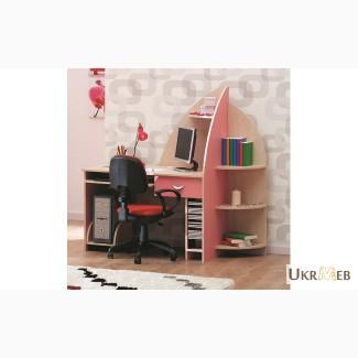 Флора Компьютерный стол+ПК подставка