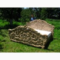 Виготовляю ліжко, різьба ручна робота дерево