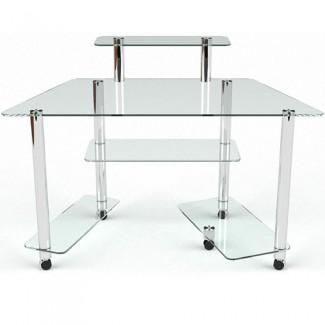 Стеклянный компьютерный стол Аватар